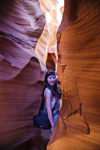 Antelope canyon USA Antelope Canyon Beautiful Light And Shadow Brilliant Color Light Cave Famous Place Fantasy Lights International Landmark Nature Physical Geography Rock Formation Tourism Tourist Travel Travel Destinations Underground Spirituality USA