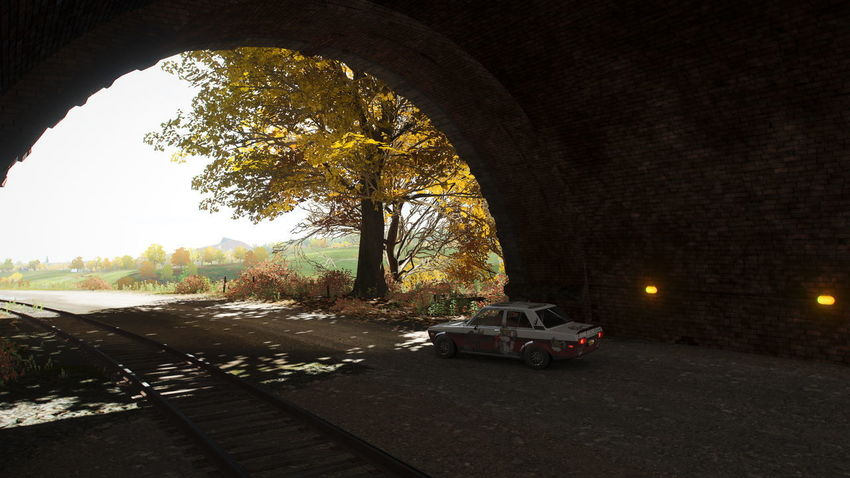 FH4 Forza Horizon 4 Forza Horizon Motor Vehicle Car Mode Of Transportation Land Vehicle Transportation Architecture Tree Nature Arch Built Structure Plant No People Street Building Exterior City Outdoors Road Day Building History