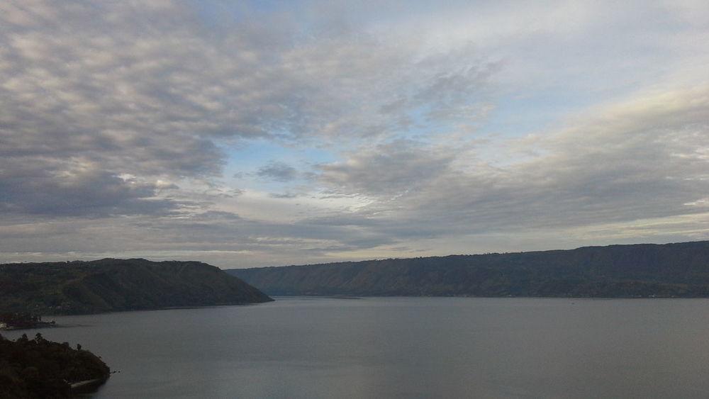 Lake View Toba Lake Wonderful Indonesia North Sumatra