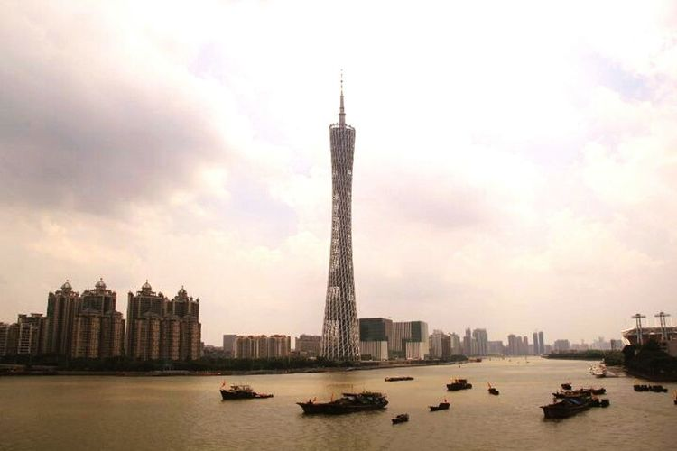 City Sky Water