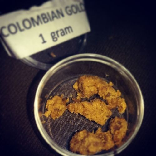 COLOMBIAN GOLD THIS SHIT IS EXTRAVAGANT !!! Hash Fire 710LABS CookieDough Colorado
