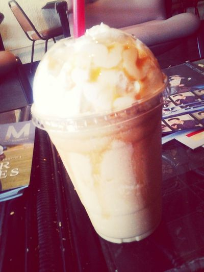 Check This Out Yumm Caramel Frapp Coffee Bandits its friday #its my day#