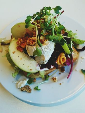 Hanging Out Lekker! Healthy Food Cheese Salad Lunchtime Toasted Foodlover Lekker Yummy