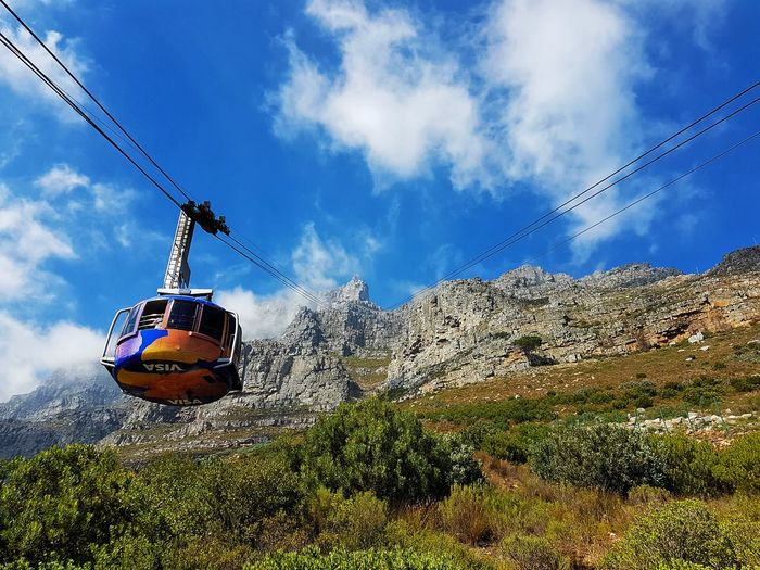 Up the Table Mountain... Tablemountain South Africa Sky Cloud - Sky Hanging Outdoors Day No People Nature