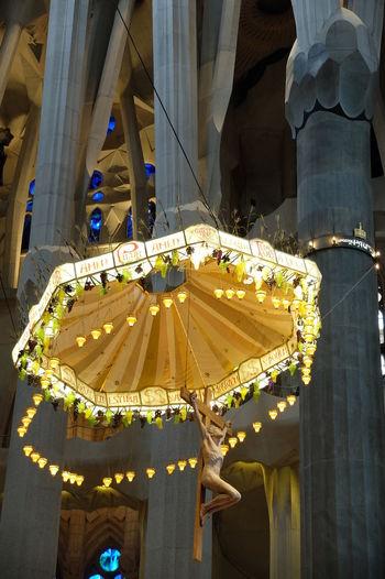 Inside Sagrada Architecture Concert Hall  Day Gaudi Inside Sagrada Familia No People Sagrada Familia Sagrada Família Basilica
