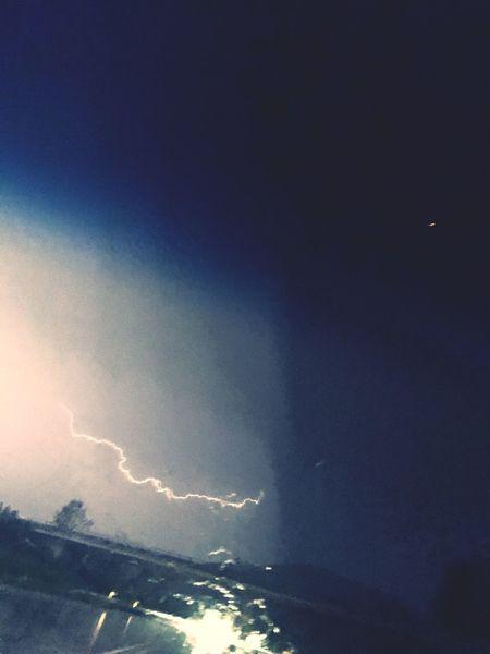 Thunderstorm Rain Outofwindow