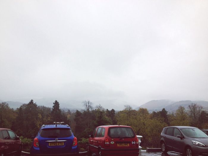 Grey sky Taking