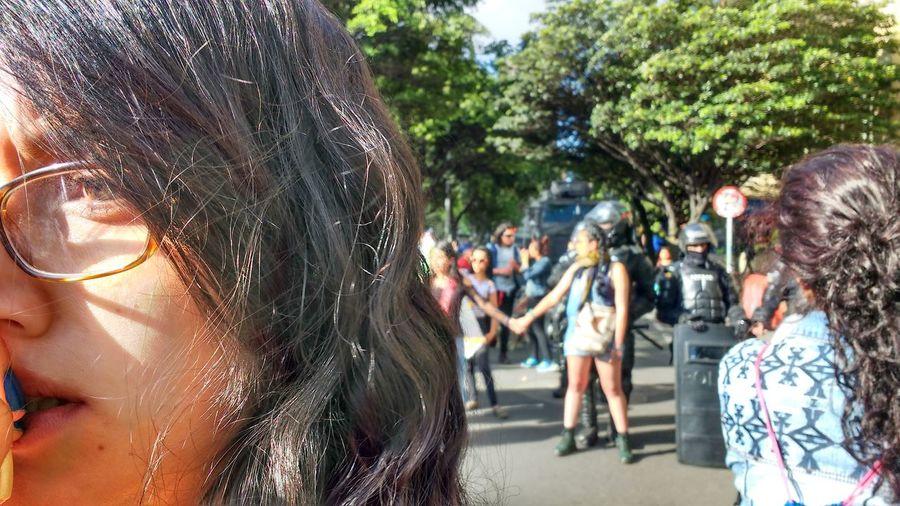Resistencia femenina en contra de las corridas de toros Bogotá - Colombia Real People People Social Issues Landscapelovers Landscape_lovers Landascape PoliceBrutality Police Antitaurino Mujer Woman Power Women Who Inspire You