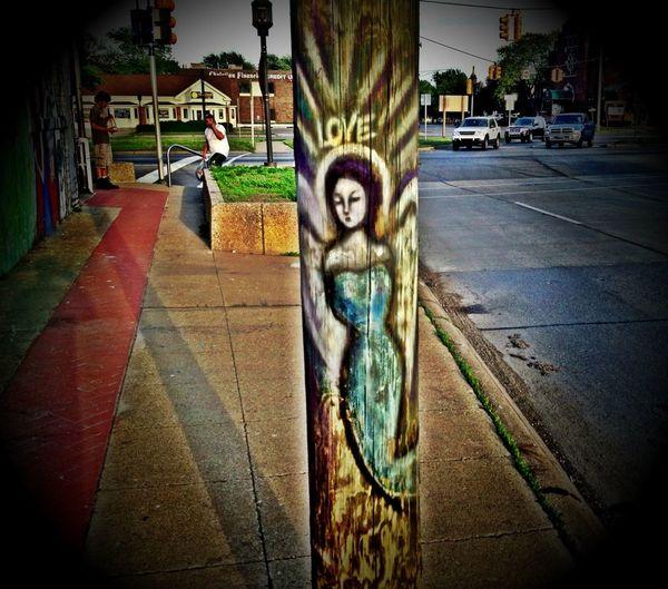 Art Peace And Love Hyberlin Art & Marijuana