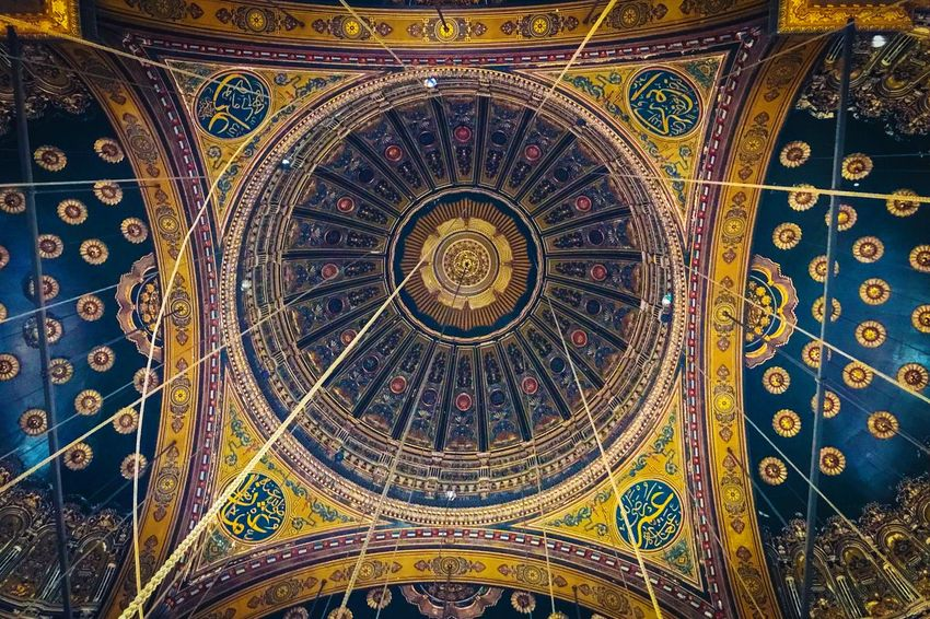Snaps @ Cairo Egypt 2018 Egypt Cairo Pattern Art And Craft Multi Colored Design Creativity Ornate Full Frame Religion Ceiling Architecture Decoration Backgrounds Craft Indoors  No People Built Structure