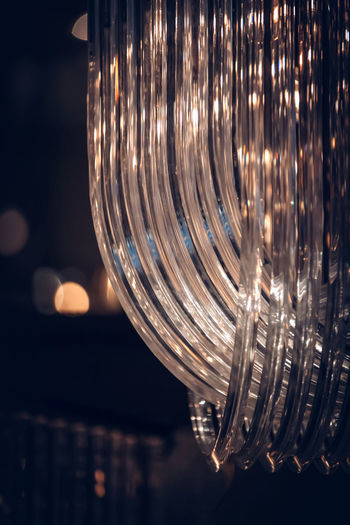 © Edi Libedinsky | instagram: https://www.instagram.com/edilibedinsky/ Web: www.edilibedinsky.com Illuminated Night No People Glass - Material Close-up Lighting Equipment Glass Transparent Focus On Foreground Light - Natural Phenomenon Indoors  Reflection Built Structure Hanging Pattern Drinking Glass Architecture Decoration Glowing Circle Light Nightlife