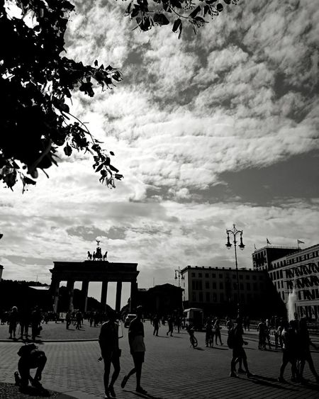BERLIN Berlin, Germany  Travelphotography Blackandwhite Photography City Architecture Sky People Streetphotography
