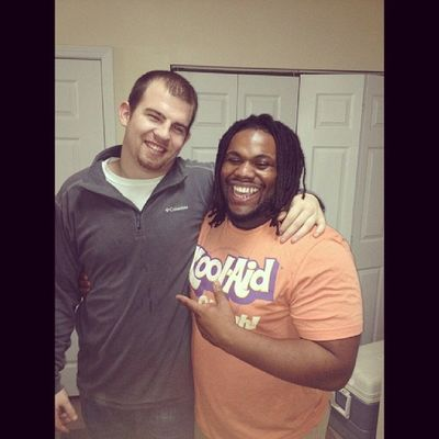 Glad to be with my Sylacauga brother in Troy TroyU Jake Daniels lol
