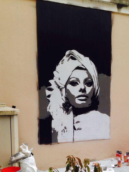 Art Street Art Artistic Art, Drawing, Creativity Woman Enjoying Life Corsica Napoleon Rue Hello World