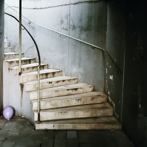 View Of Empty Staircase