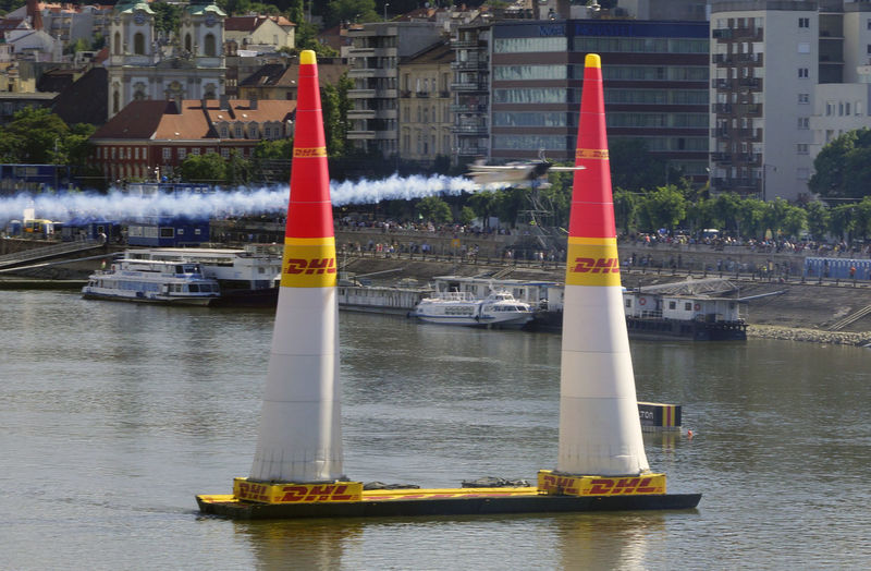 Red Bull Air Race Budapest 2017 Air Race Airplane Architecture Building Exterior Built Structure Day Flight Nature Nautical Vessel No People Outdoors Transportation Water