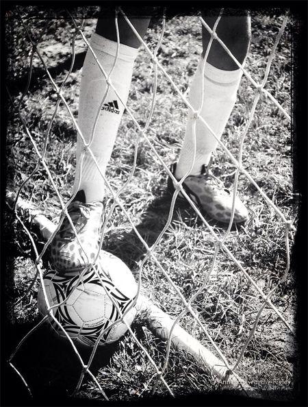 "©Ann Rigley ""r e t r e I v a l"" Soccer Feet Nets IoLIGHTstudios"