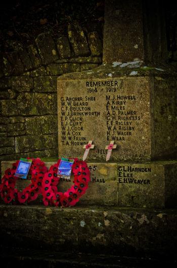 Remembering War Memorial