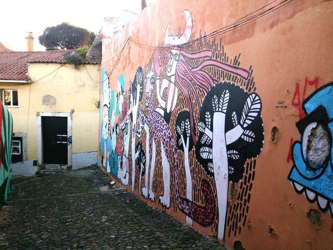 Lisboa Street Art Graffiti Mural