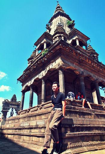 Memory Of Travel 2014 Nepal 杜巴,倒在了地震中