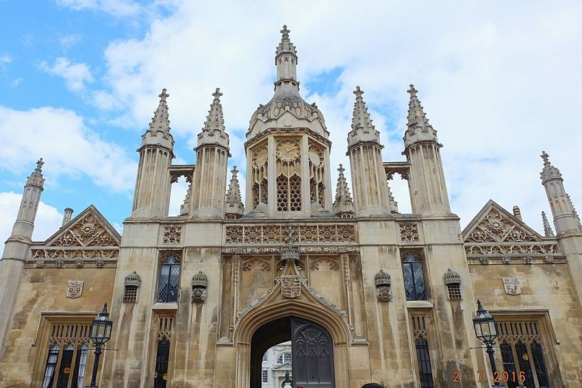 Cambridge King's College Architecture 😚 Uk The Great