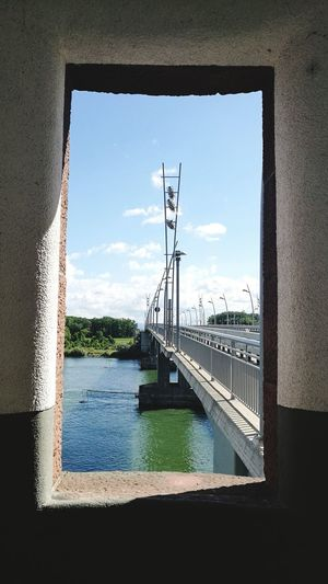 Worms Sky Cloud - Sky No People Water Architecture Day Built Structure Rhein Clty Of Worms Worms-Germany Bridge