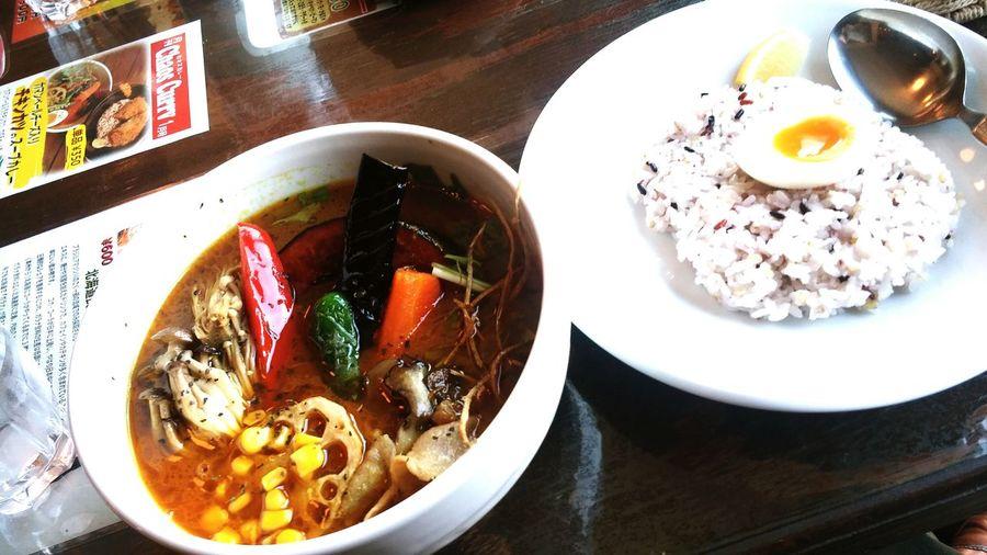 昼ごはん Lunch カレー Curry