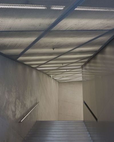 Casa da Musica, Porto, Portugal. Casadamusica Musica Music Porto Portugal Travel Voyage Photo 5Dmark2 5dMarkⅡ Canon 50mm Archi Architecture ARCHITECT Concrete Minimal Minimalist Stairs Light Lighting Photo Photographer Art Artist design inspiration simple