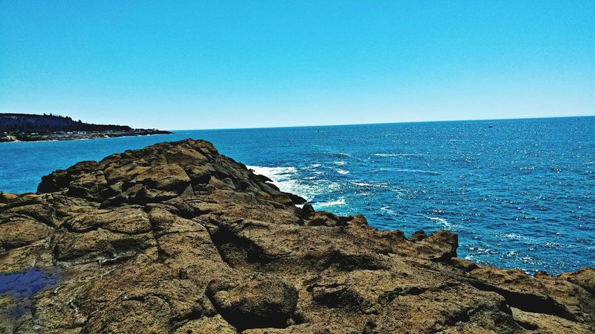 The Rocks Depoe Bay... Sea Rock - Object Clear Sky AndroidPhotography My Photo Album ♡