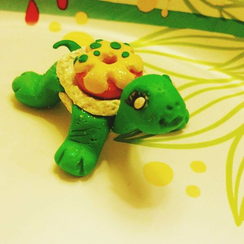Polymerclay Sandiego Handmade Turtle Donut Hanging Out Craft Shugamoon Hello World