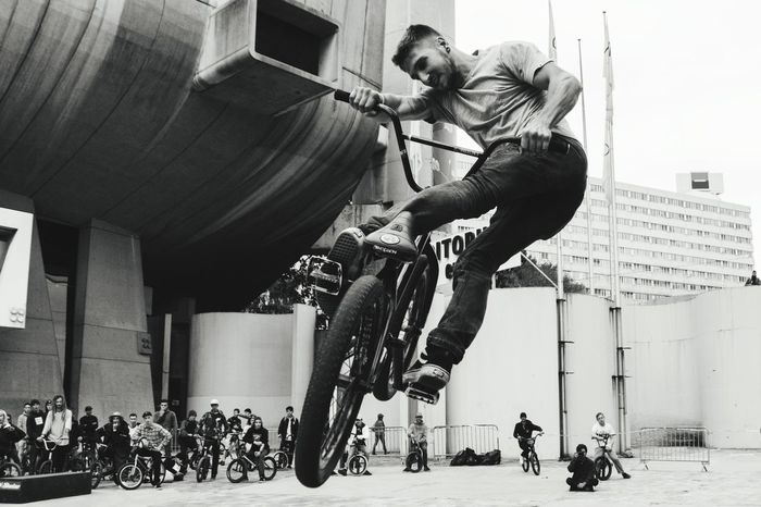 People Men Day Outdoors Bmx Cycling City TheWeekOnEyeEM Sport Bmx  Jump Eyemphotography Jumpshots Bmxlife Lifestyles Black And White Friday