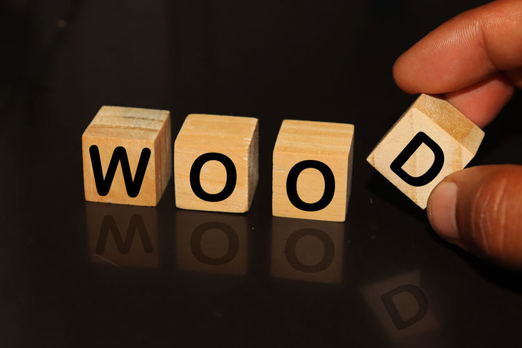 WOOD made with