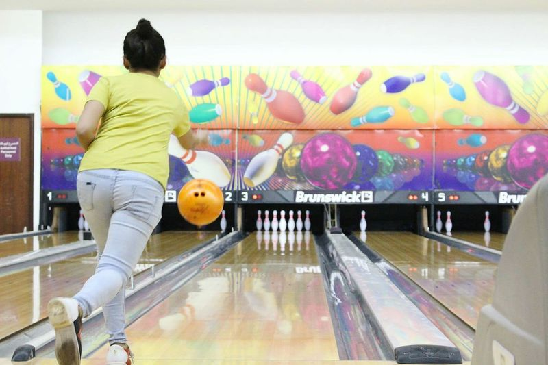 Bowling (: Qatar2016 Sports In The City Bowlingballs Bowling Time Bowlingshoes Bowlingalley Bowling Pins