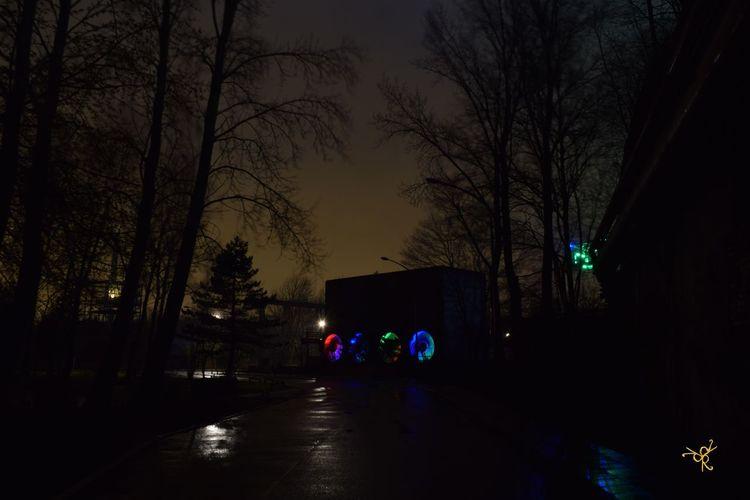 Atmosphere City City Street Duisbrg Glowing Illuminated Landschaftspark Duisburg-nord Light Lighting Equipment Mystery Night Outdoors Street Street Light The Way Forward