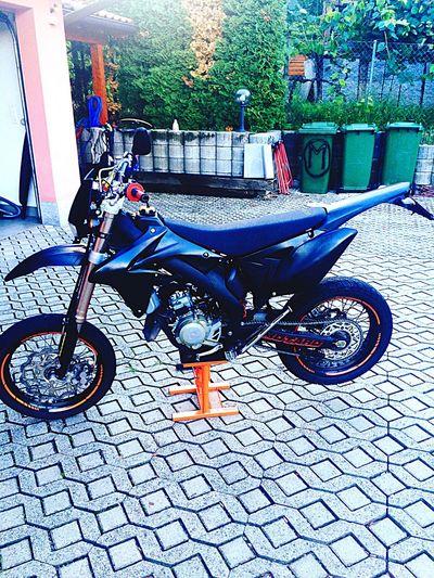 My Baby Motorcycles Motorbike Black 50cc Valenti Suzuki Lugano Bestia