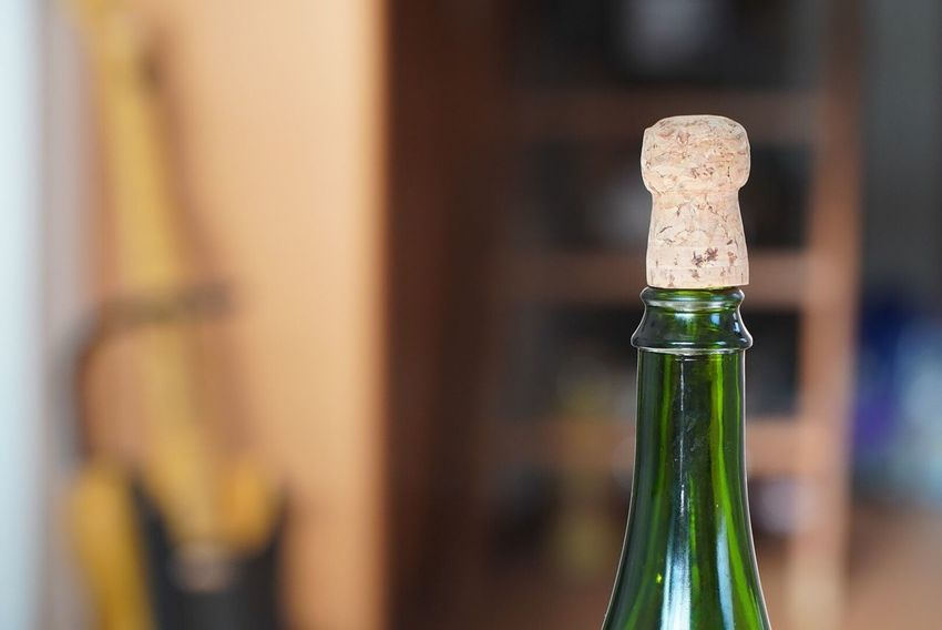 EyeEm Selects Bottle Wine Bottle Cork - Stopper Focus On Foreground Wine Alcohol Wine Cork Close-up Indoors  Drink No People Day