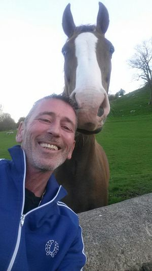That's Me Why The Long Face? Hello World Horse And Me I'm Not A Big Horse Fan Usually But. .
