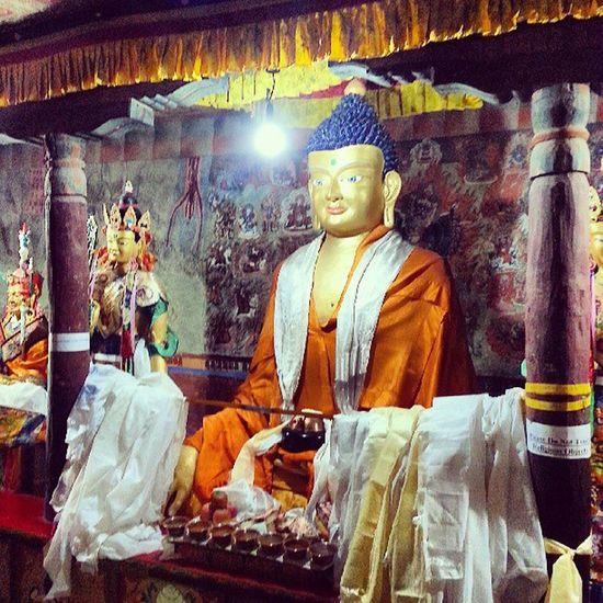 Thiksey Buddha Ladakh Gf_india gf_daily gang_family indiame indiaincredible instagram ig instadaily igers igdaily instacanvas igersmumbai InstaMumbai wu_india worldunion stunning_shots nothingisordinary_ nothingisordinary
