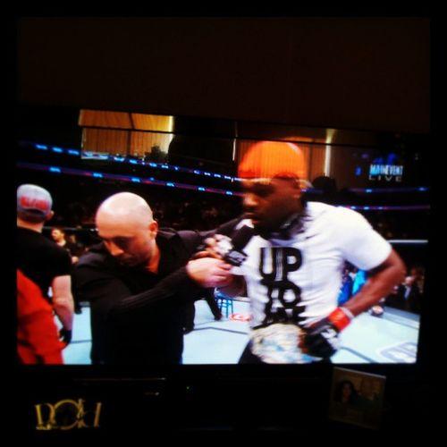 Jonejones TKO vs ChaelSonnen Ufc159 brokentoe ouch!