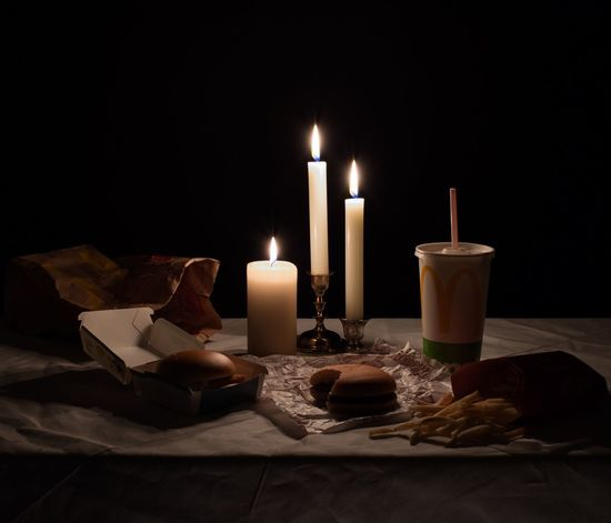 """Basement Class"" As bland as it seems, there's always something that throws you off in our everyday life; these series of still life photos capture the true nature of matters by overemphasizing and staging a microscopic moment in an odd and unsettling manner. Hamburger Mcdonalds Candle Candle Fire Flame Burning Fire - Natural Phenomenon Illuminated Indoors  No People Dark Heat - Temperature Food And Drink Table Food Still Life The Still Life Photographer - 2018 EyeEm Awards The Creative - 2018 EyeEm Awards The Still Life Photographer - 2018 EyeEm Awards The Still Life Photographer - 2018 EyeEm Awards"