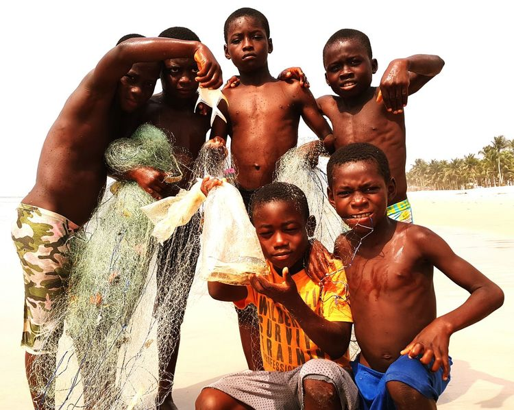 African Pride Child Black And White Ivory Coast Childhood Enjoying Life Check This Out