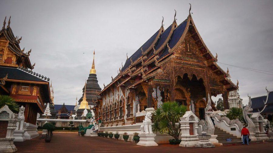 Buddha Image วัด พระ Buddha Statue Buddhist Temple TempleThailand Temple Buddha Thailand Thai วัดบ้านเด่น เชียงใหม่ WatBanDen Chengmai Chengmai Thailand City