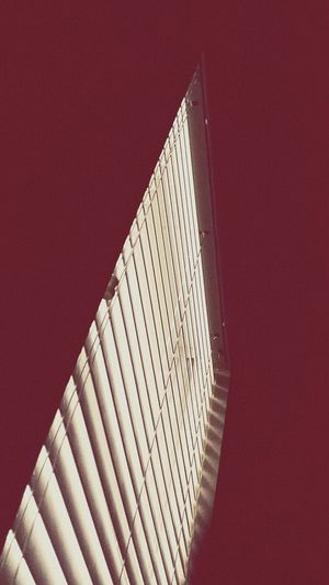 Blindside Pointed Angles And Lines Magenta Showing Imperfection