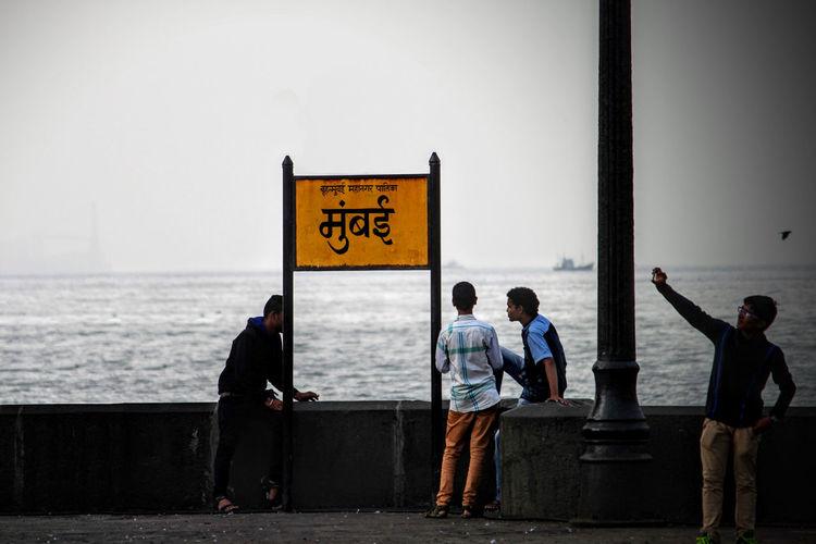 Mumbai Mumbaimerijaan MumbaiDiaries Mumbaikar Mumbaibizarre City Of Dreams People Outdoors Sea Sea And Sky Mumbaiphotography