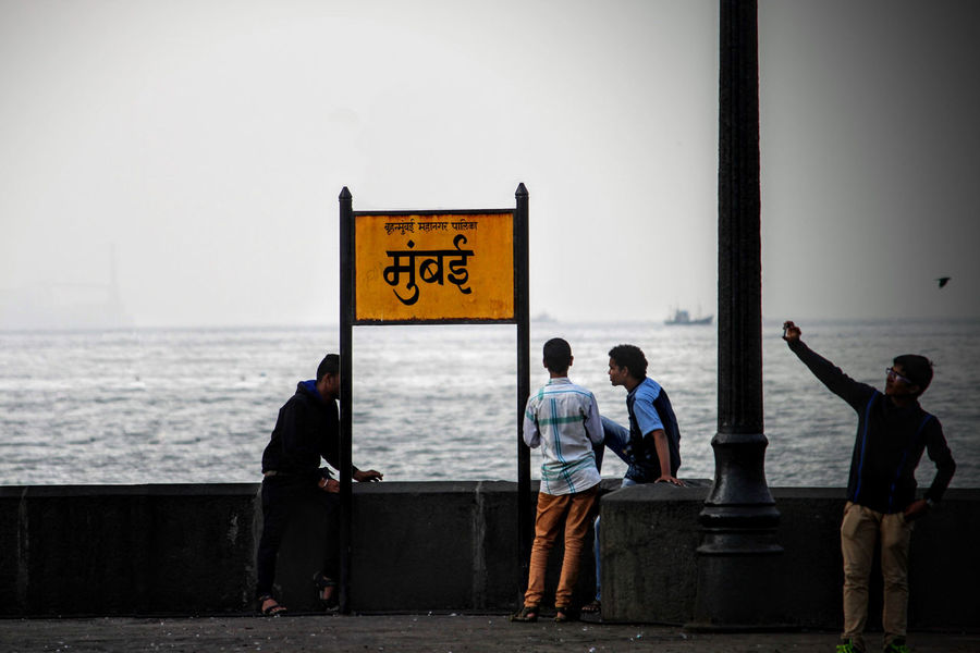 Mumbai Mumbaimerijaan MumbaiDiaries Mumbaikar Mumbaibizarre City Of Dreams People Outdoors Sea Sea And Sky Mumbaiphotography