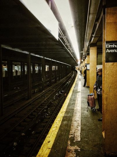 Streetphotography IPhoneography New York Subqway