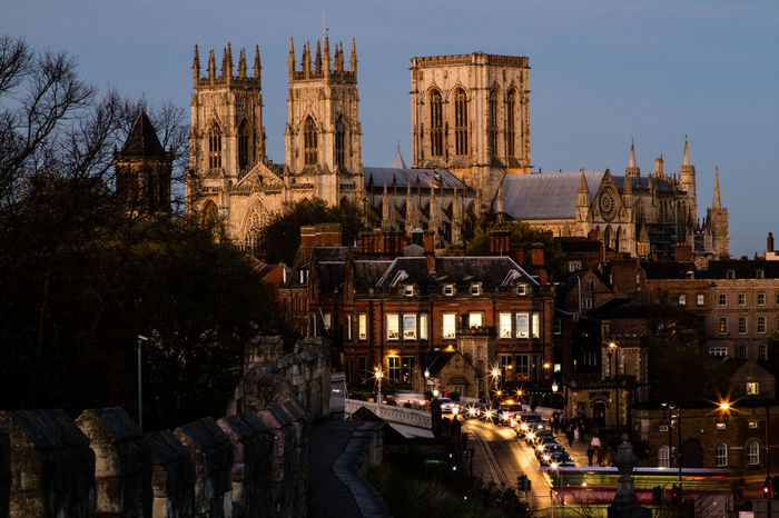 Cathedral York York Minster  Yorkshire Architecture Building Exterior Built Structure City Day England History Large Group Of People Minster Outdoors People Place Of Worship Religion Sky Spirituality Tourism Travel Destinations Tree Uk