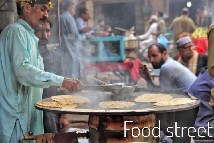 Pakistani Traveller Pakistaniphotographer Pakistani Culture Food Pakistanifood Lahore Lahore Land Of Culture And Fastivals Streetphotography Street Food Pakistan EyeEm Selects City Steam Market Smoke - Physical Structure Street Food Stall Cooking Pan Indian Food Street Market