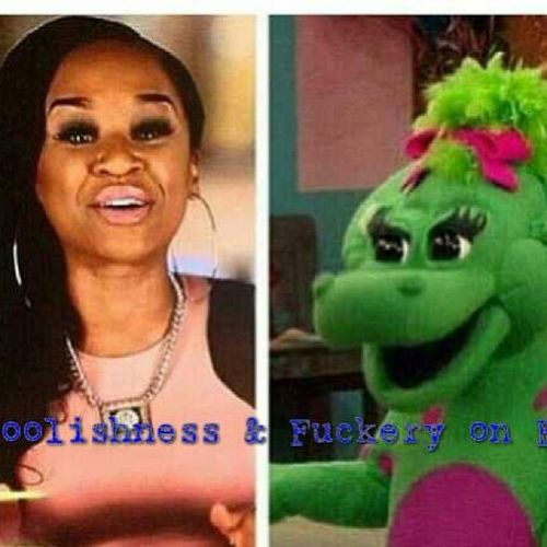 That's not nice!!! ??? DJTraciSteele TraciSteele BabyBop LoveAndHipHopAtlanta