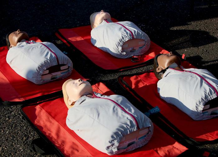 CPR manequins